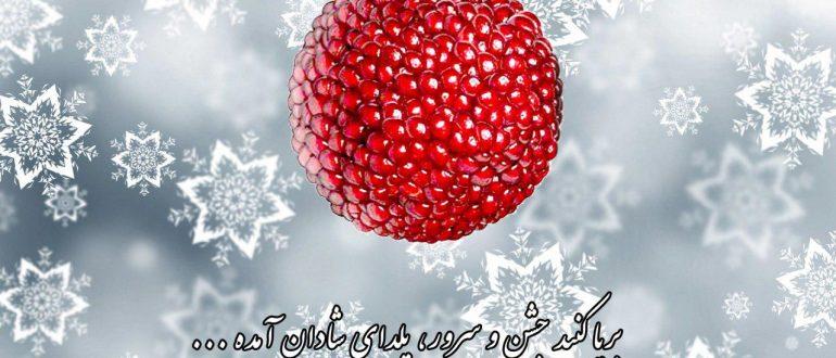 فرا رسیدن شب یلدا مبارک