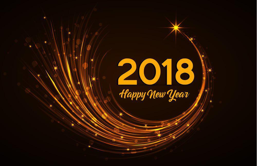 سال 2018 مبارک