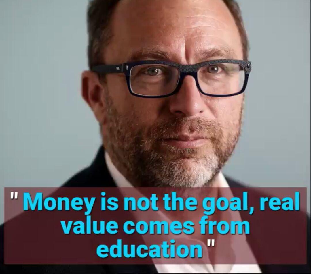 ارزش واقعی از آموزش می آید